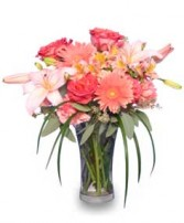 CORAL REFLECTIONS of Fresh Flowers in Advance, NC | ADVANCE FLORIST & GIFT BASKET