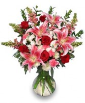 PERFECT LOVE BOUQUET  Fresh Flowers in Zachary, LA | FLOWER POT FLORIST