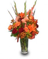 RICH AUTUMN TRIBUTE of Fall Flowers in West Hills, CA | RAMBLING ROSE FLORIST