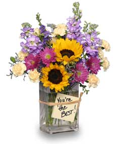 YOU'RE THE BEST! Arrangement in New Milford, CT | RUTH CHASE FLOWERS