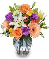 CELEBRATE! Bouquet in Springfield, MA | REFLECTIVE-U  FLOWERS & GIFTS