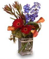 FLOWERS OF DISTINCTION Arrangement in Athens, OH | HYACINTH BEAN FLORIST