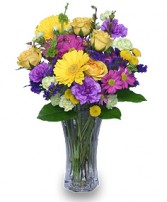 PRETTY POSY Flower Arrangement in Brownsburg, IN | BROWNSBURG FLOWER SHOP 