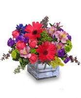 RAZZLE DAZZLE Bouquet of Flowers in Claresholm, AB | FLOWERS ON 49TH