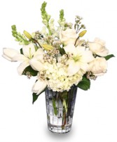 LET IT SNOW!  with Fresh Flowers in Pembroke, MA | CANDY JAR AND DESIGNS IN BLOOM
