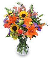 HARVEST RHAPSODY Fresh Flower Vase