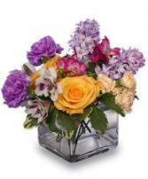 EARLY SPRING FLING  Flower Arrangement in Milton, MA | MILTON FLOWER SHOP, INC