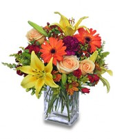 FLORAL SPECTACULAR Flower Vase in Bath, NY | VAN SCOTER FLORISTS