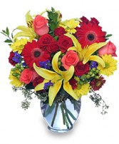 MAKE A SPLASH! Bouquet in Rockville, MD | ROCKVILLE FLORIST & GIFT BASKETS