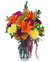 GRACEFUL GATHERING Bouquet of Flowers in Hillsboro, OR | FLOWERS BY BURKHARDT'S
