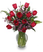 TIPTOE THROUGH THE TULIPS BOUQUET in Glenwood, AR | GLENWOOD FLORIST & GIFTS