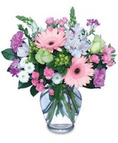 MELODY OF FLOWERS Bouquet in Didsbury, AB | VICTORIA'S FLOWERS & GIFTS