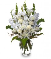 PEACEFUL COMFORT Flowers Sent to the Home in Burton, MI | BENTLEY FLORIST INC.