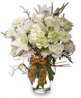 SPARKLING WINTER JOY Flower Arrangement in West Hills, CA | RAMBLING ROSE FLORIST