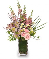 IT'S A GIRL! BOUQUET Fresh Flowers in Pembroke, MA | CANDY JAR AND DESIGNS IN BLOOM