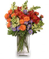 FLOWER POWER! Floral Arrangement in West Hills, CA | RAMBLING ROSE FLORIST