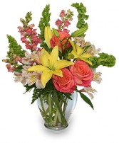 CAREFREE SPIRIT Flower Arrangement in Youngstown, OH | BLOOMIN CRAZY FLORIST