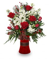 HOLIDAY HAPPINESS Christmas Arrangement in Katy, TX | KD'S FLORIST & GIFTS