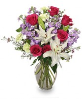 WINTER DREAMS Bouquet of Flowers in Huntington, IN | Town & Country Flowers Gifts