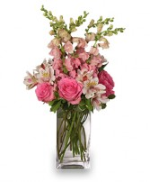 THINK PINK Bouquet in Winter Springs, FL | WINTER SPRINGS FLORIST AND GIFTS