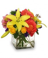 SWEET SUCCESS Vase of Flowers in Bath, NY | VAN SCOTER FLORISTS