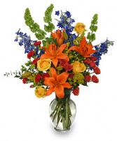 AWE-INSPIRING AUTUMN Floral Arrangement in West Hills, CA | RAMBLING ROSE FLORIST