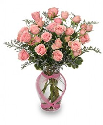 Victorian Roses Pink Spray Roses