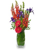 SUMMER STYLE Summer Bouquet in Red Wing, MN | HALLSTROM'S FLORIST & GREENHOUSES