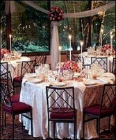 GUEST TABLE DISPLAY Wedding Reception Arrangements in Prospect, CT | MARGOT'S FLOWERS & GIFTS