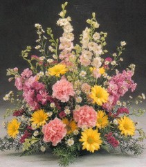 GARDEN ARRANGEMENT Funeral Flowers