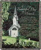 A Beautiful Day In Heaven Sympathy Tapestry