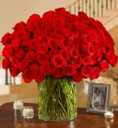 A Century of Roses 100 red roses in Miami, FL | THE VILLAGE FLORIST