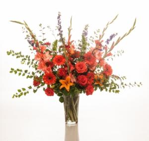 A FULL LIFE Large vase arrangement in Salem, OR | HEATH FLORIST