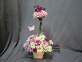 A Topiary Just For Her With Butterfly ~Margot's Local Delivery Only, Sorry~ in Prospect, CT | MARGOT'S FLOWERS & GIFTS