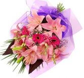 MIX PINK  FLOWERS          GIFT WRAP in Rockville, MD | ROCKVILLE FLORIST & GIFT BASKETS