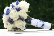 Aeronautical Inspiration Bridal Bouquet