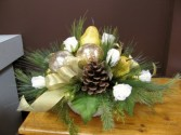 AFW8 Golden Pear Artificial Arrangement in London, ON | ARGYLE FLOWERS