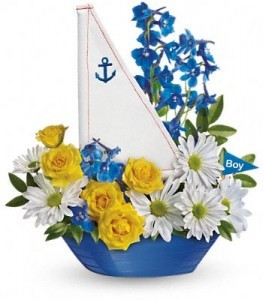 Ahoy It's A Boy TO ADD PLUSH SEE GIFT ITEM CATEGORY.