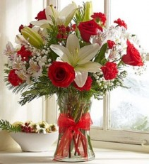 All I want for Christmas is you Mixed Flowers