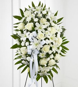 ALL WHITE SPRAY  in Brooklyn, NY | ELEGANT FLORIST