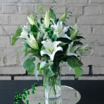 Always Elegant Lillies Arrangement