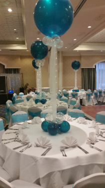 Amazing 3'  with lights Table Arrangements