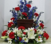 American Pride Memorial Cremation Ring