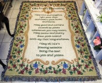 An Irish Blessing Sympathy Tapestry