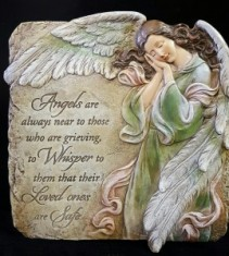 Angel Placque Gift Item