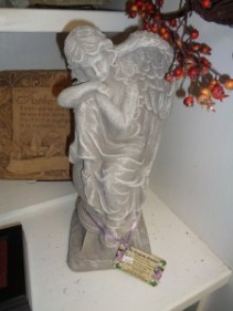Angel Statue Cement Sympathy Statue
