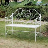 Angel Wing Bench  Can only be puchased for local delivery only in Bowerston, OH | LADY OF THE LAKE FLORAL & GIFTS