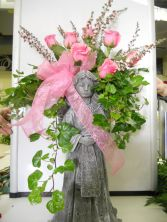 Rose Angel Wing Planter