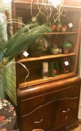 Antique China Cabinet In our gift shop