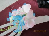 Aqua Marine Corsage Prom Flowers in Bracebridge, ON | CR Flowers & Gifts ~ A Bracebridge Florist